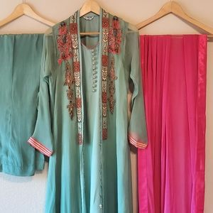 Pakistani indian designer Dress-chinyere